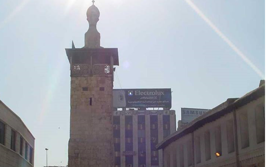 دمشق –   المدرسة الشامية الكبرى البرانية (8)