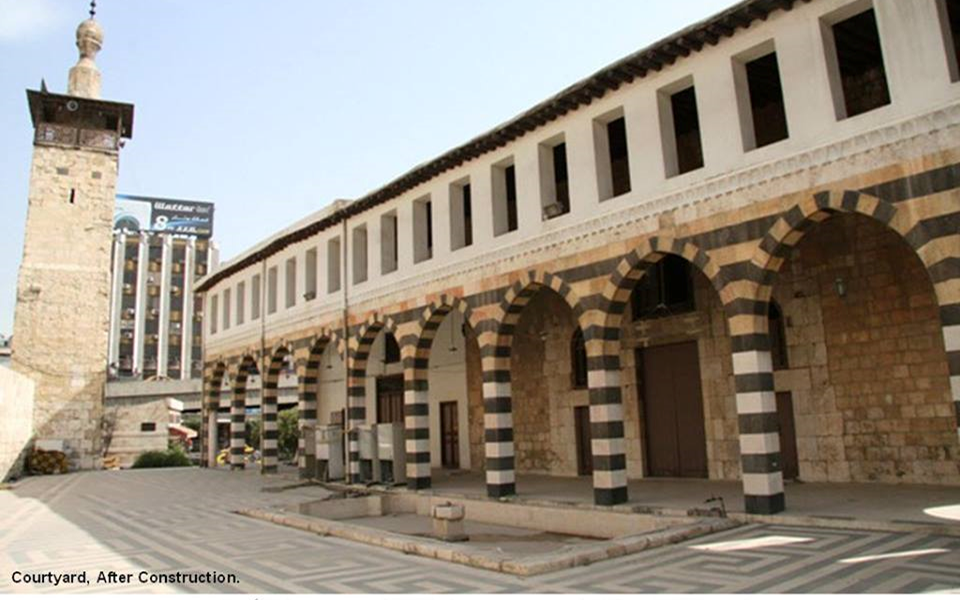 دمشق – المدرسة الشامية الكبرى بعد عمليات الترميم  (28)