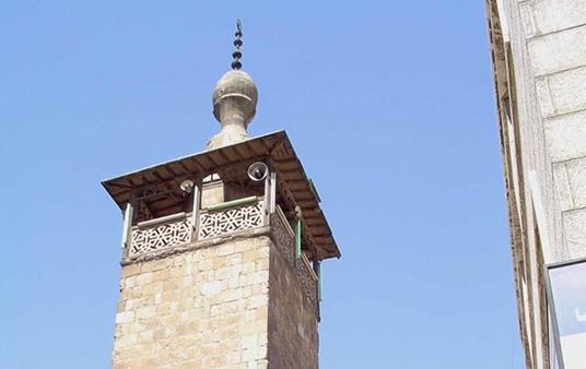 دمشق – مئذنة المدرسة الشامية الكبرى البرانية (7)
