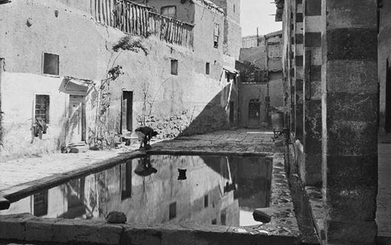 دمشق – صحن المدرسة الشامية الكبرى  (24)