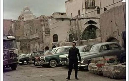 دمشق 1965- المدرسة النورية - مقام نور الدين الشهيد
