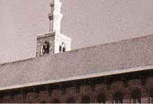 صورة دمشق في الستينيات  – مئذنة عيسى في المسجد الأموي