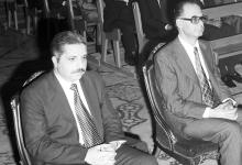 محمد علي الحلبي رئيس الوزراء في تشييع البطريرك الياس معوض