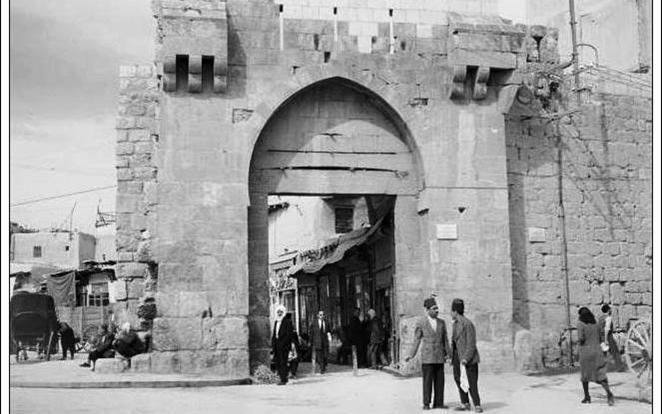 دمشق - باب توما عام 1952