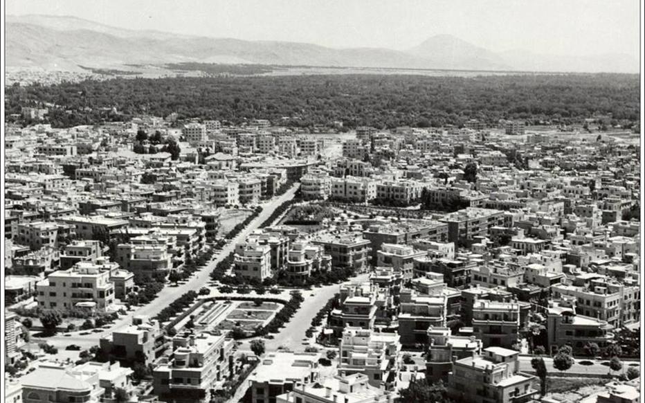 دمشق - حديقة المدفع - السبكي وما حولها 1963 - 1965