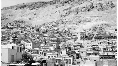 دمشق 1955 - المهاجرين وقاسيون