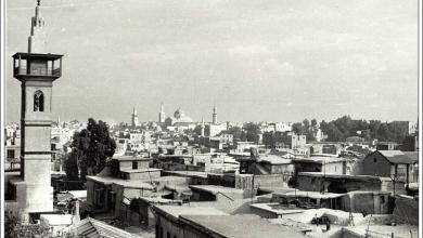 دمشق 1938 - من مسجد الورد الى المسجد الأموي..