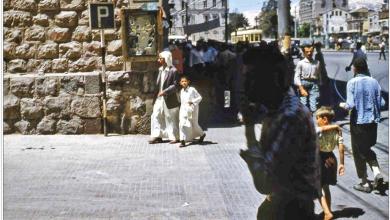 دمشق - ساحة المرجة.. بناء العابد عام 1960