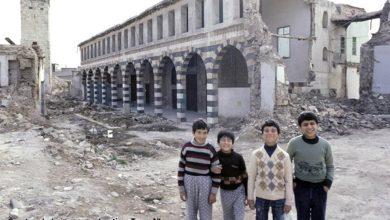 دمشق – المدرسة الشامية الكبرى قبل عمليات الترميم  (27)
