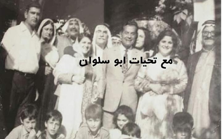 دمشق 1970 - فريد الأطرش مع عائلته في صحنايا