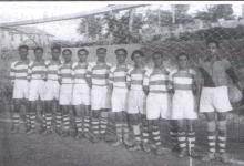 دمشق - فريق نادي قاسيون الأول في ملعب بردى عام 1935