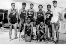 صورة اللاذقية في الخمسينيات – فريق مدرسة الأرض المقدسة
