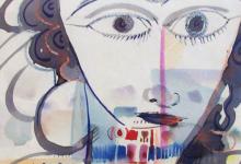 صورة الوجه .. لوحة للفنان أحمد مادون (4)