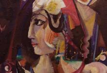 صورة الملكة زنوبيا .. لوحة للفنان أحمد مادون (3)