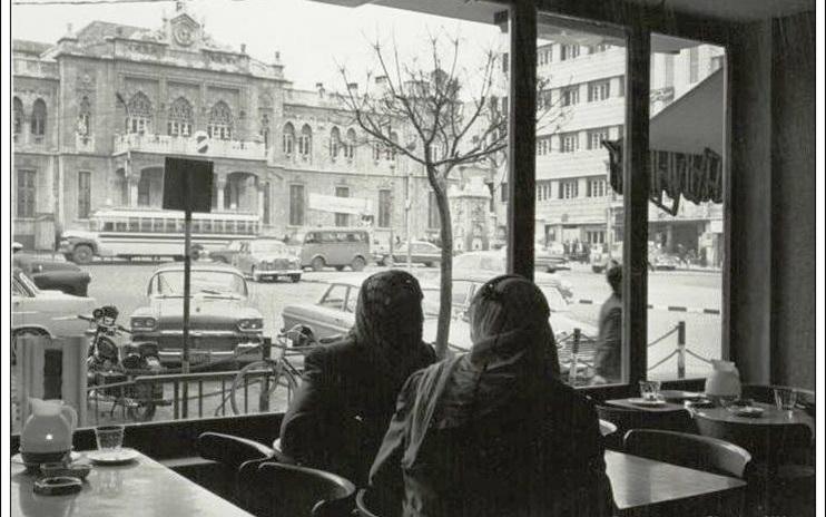 دمشق - محطة الحجاز بداية الستينات
