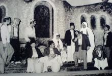 صورة محمد طرقجيفي مسرحيةالزوبعة 1973