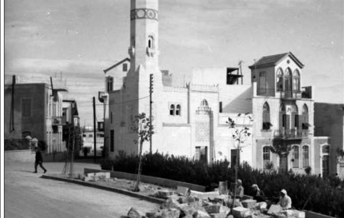 دمشق - مسجد العفيف 1951