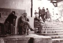 صورة دمشق – مقهى النوفرة بعدسة الفنان أحمد مادون