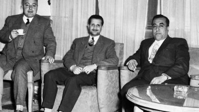 صورة موفق البقاعي في احدى مكاتب وزارة الداخلية
