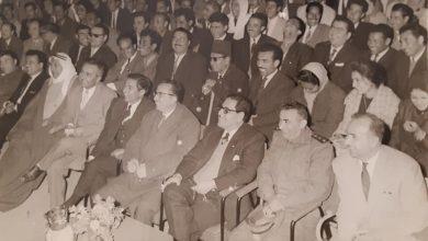 صورة من فعاليات نادي الرشيد بالرقة عام 1963 (3)