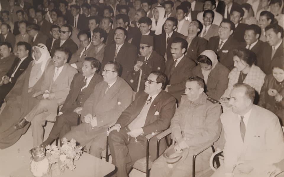 من فعاليات نادي الرشيد بالرقة عام 1963 (3)