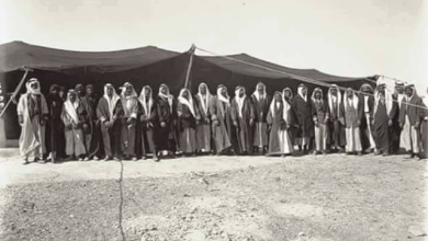 صورة وادي السرحان – الحديثة  عام 1929