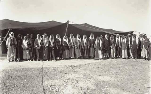 وادي السرحان - الحديثة  عام 1929