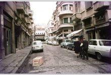 دمشق 1965 - أحد مداخل سوق الحريقة
