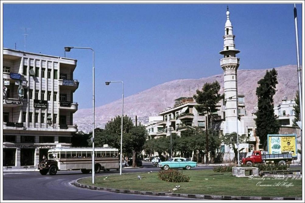 دمشق 1963 - ساحة السبع بحرات