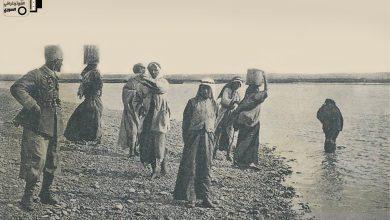 الرقة في الثلاثينيات - نشل الماء من الفرات