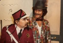 صورة محمد طرقجيمع ناجي جبر في مسلسل وادي المسكعام 1982