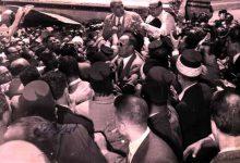 دمشق 1954 - استقبال شكري القوتلي بعد خمس سنوات من المنفى