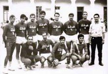 صورة منتخب نادي الغوطة لكرة اليد عام 1968