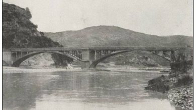 اللاذقية 1940 - جسر نهر الكبير الشمالي