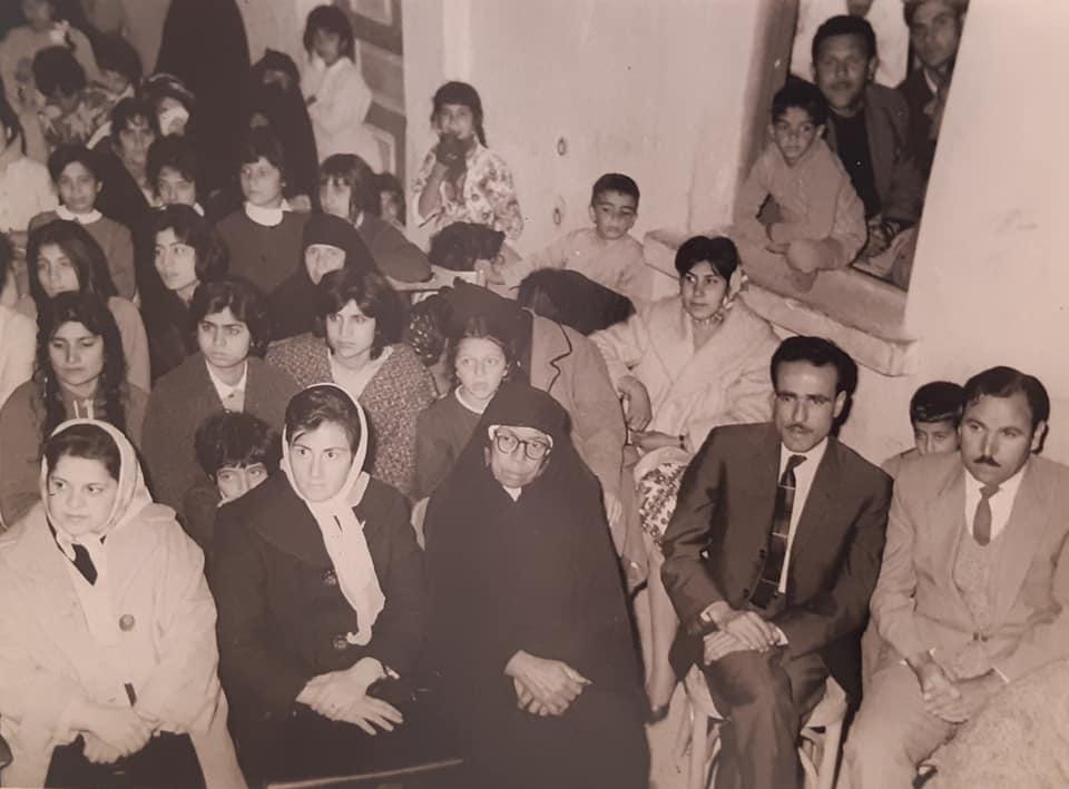 من فعاليات نادي الرشيد بالرقة عام 1963 (1)