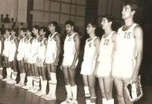 صورة فريق الجيش السوري لكرة السلة عام 1987