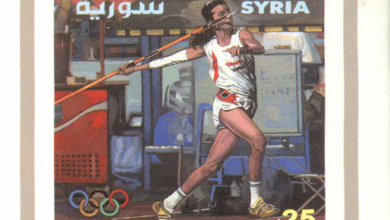 طوابع سورية عام 2000 - الألعاب الأولمبية بسدني (2)