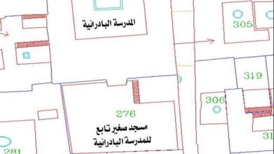 صورة دمشق – المدرسة البادرائية .. المخطط (3)