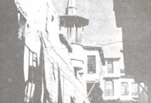 دمشق 1949 – مسجد المدرسة البادرائية  (6)