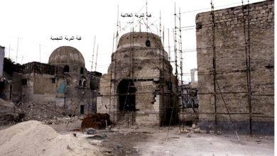 دمشق – المدرسة الشامية و المقامات التابعة لها أثناء عملية الترميم (34)