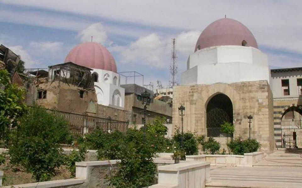 دمشق – المدرسة الشامية والمقامات التابعة لها بعد الترميم (35)