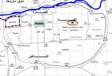 صورة المدرسة المسمارية الحنبلية في دمشق – المخطط (3)