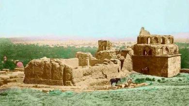 صورة دمشق 1857 – المدرسة المعظمية (1)