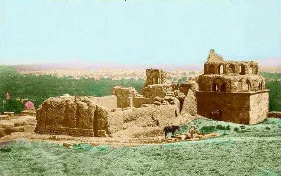 دمشق 1857 - المدرسة المعظمية (1)
