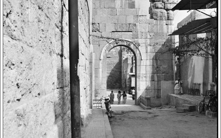 دمشق 1985 - خلف المسجد الأموي