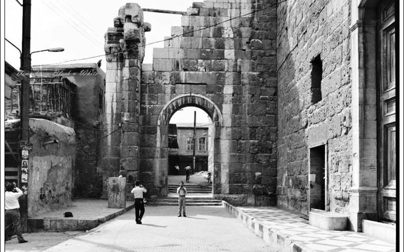 دمشق - باب جيرون والمسجد الأموي 1985