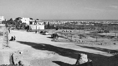 دمشق 1943 - آخر الخط - المهاجرين وساحة خورشيد