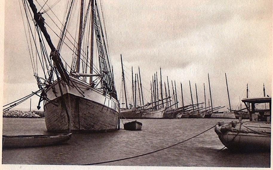 اللاذقية - حوض المرفأ عام 1942