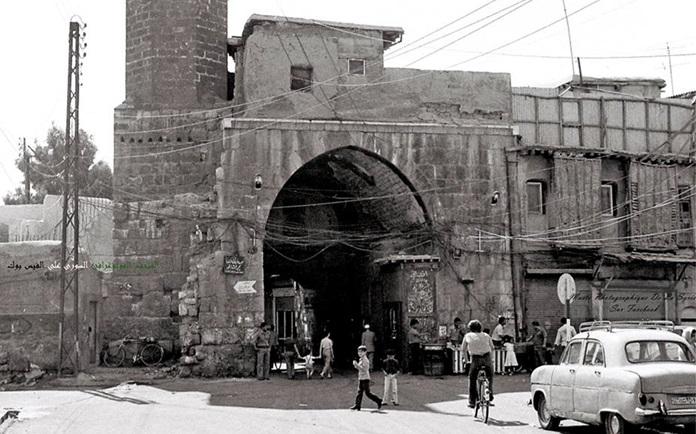 دمشق 1980- باب الصغير في الشاغور