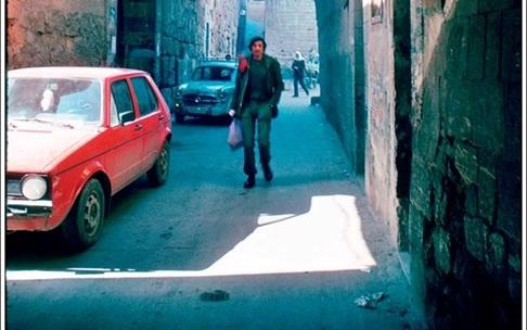 دمشق 1983 - جادة الغزي - الكلاسة خلف المسجد الأموي